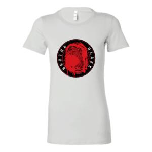 White Tee Womens Logo Front