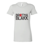 White Tee Womens Name Front